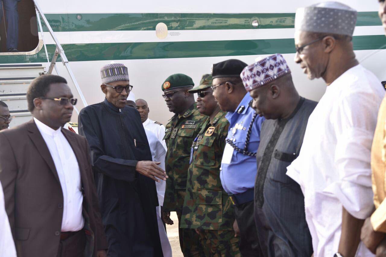 APC welcomes President Muhammadu Buhari