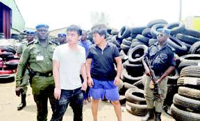 Court grants bail to two Chinese nationals accused of importing substandard tyres