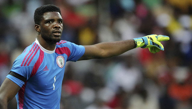 Int'l friendlies: Akpeyi arrives in Eagles' camp