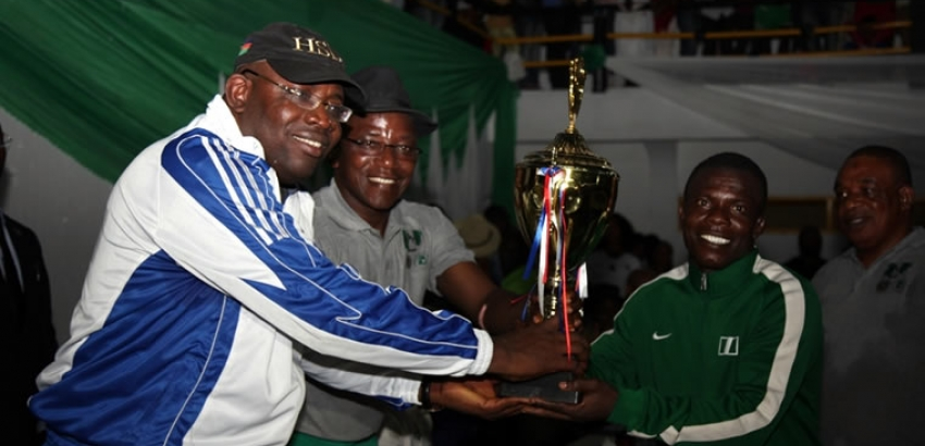 Dalung commends Dickson's investment in sports
