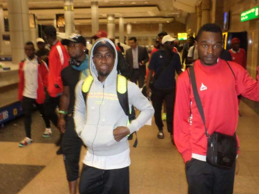 Enugu Rangers arrive in Nigeria from Egypt