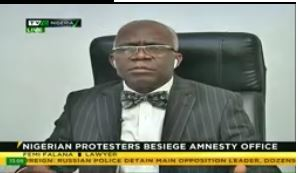 Protests against Amnesty International illegal, says Falana