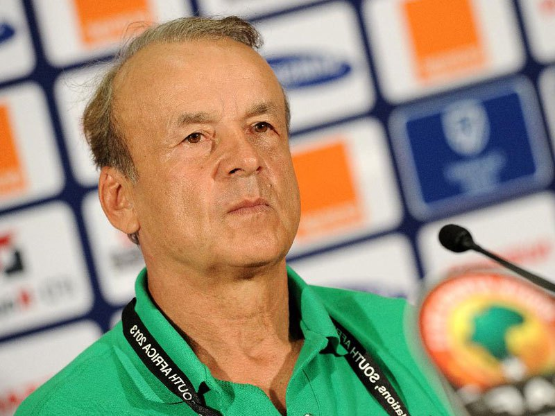 It's World Cup ticket or I quit – Coach Gernot Rohr