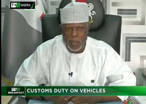 Customs CG dares Senate, says he won't appear in uniform