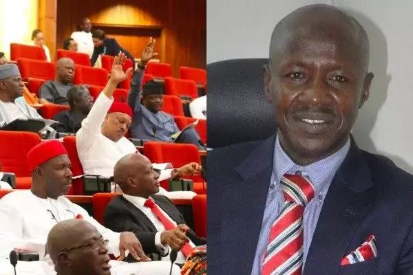 Senate denies rejecting Magu on corruption allegations