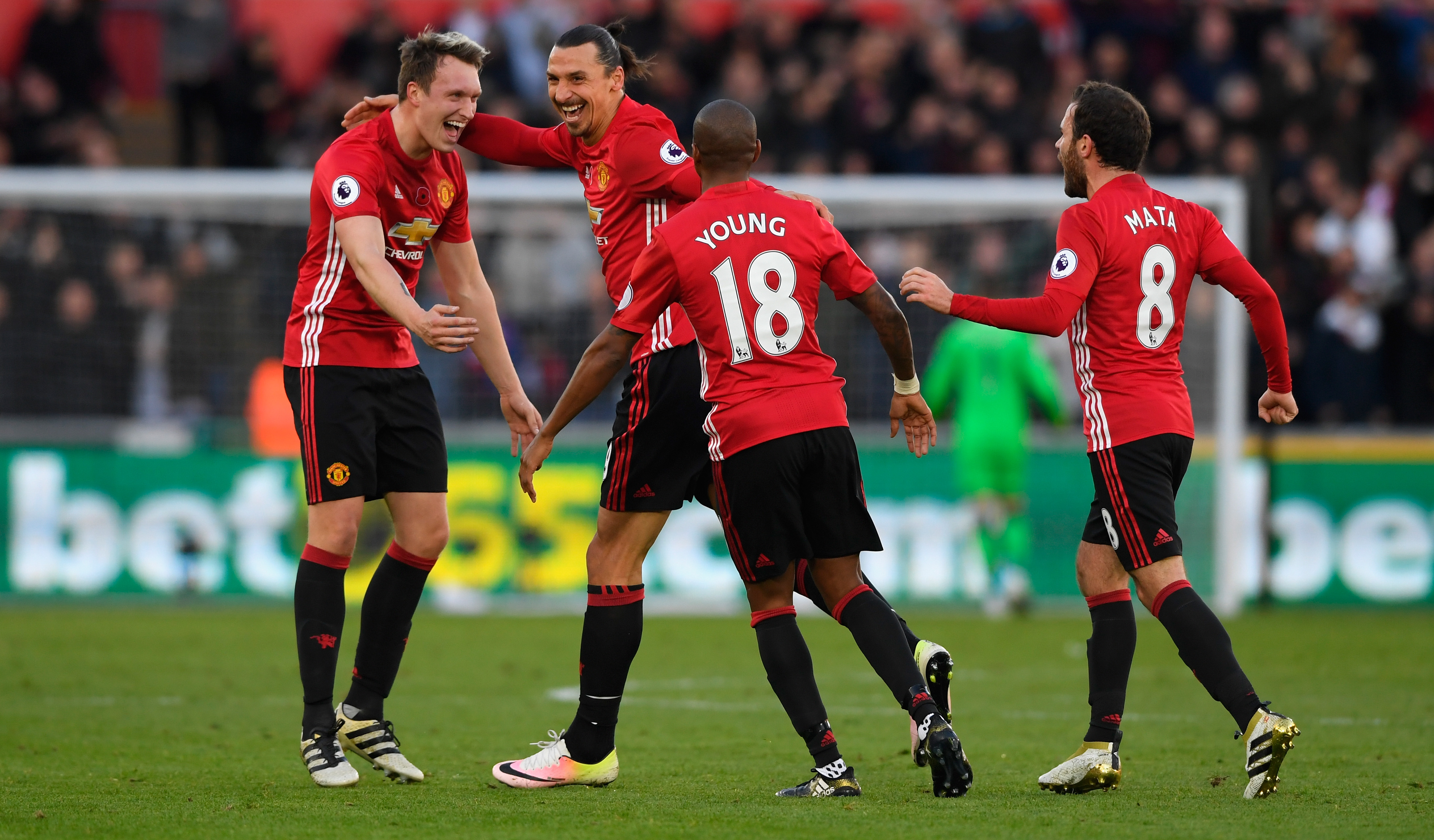 Manchester United retain sixth position