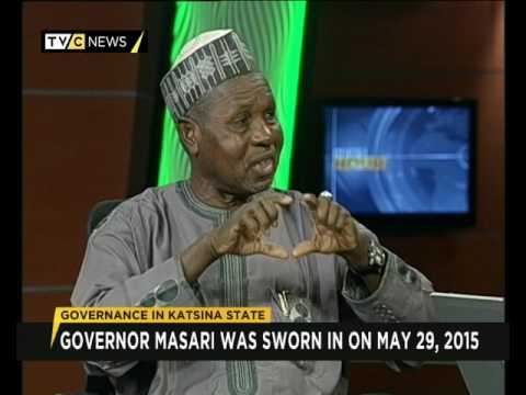 Governor Masari gives account of stewardship