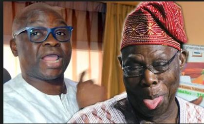 You're the ather of corruption, Fayose tells Obasanjo