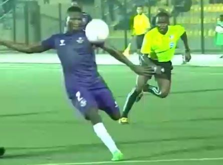 MFM FC Olatunbosun's volley nominated for award
