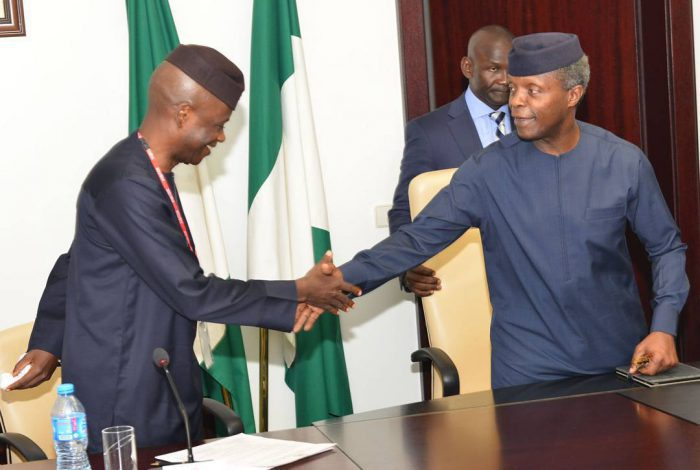 Osinbajo meets with Reps tactical Committee on recession