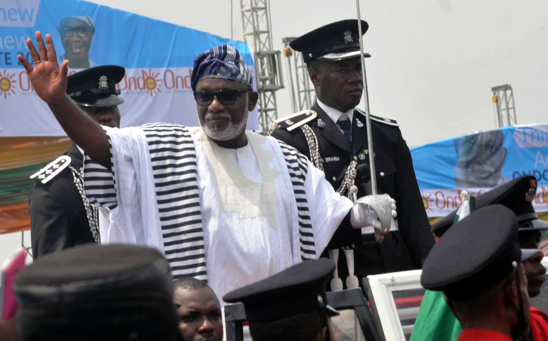 Governor Akeredolu laments poor state of Ondo govt. vehicles