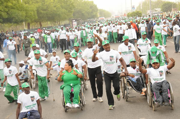 Group calls for inclusion of physically challenged women