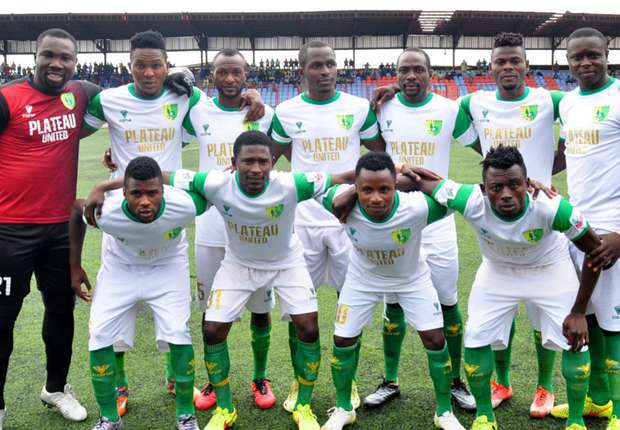 Plateau Utd return to NPFL summit