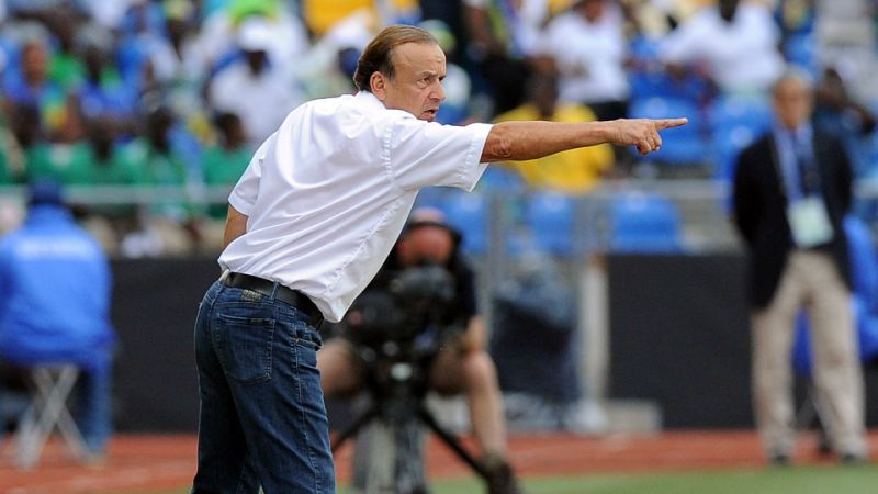 Rohr satisfied with Eagles' performance against Senegal
