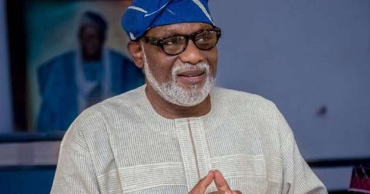 Akeredolu promises to promote peace with neighbouring states