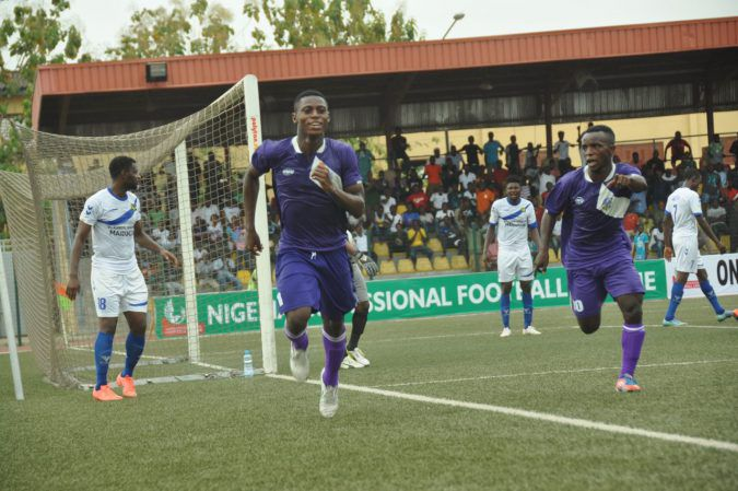 Odey's brace inspires MFM FC to 2-1 win against Plateau Utd