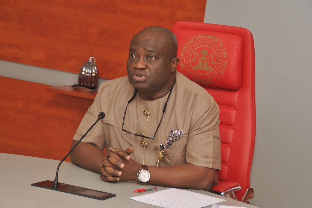Abia Governor advocates use of technology to fight crime