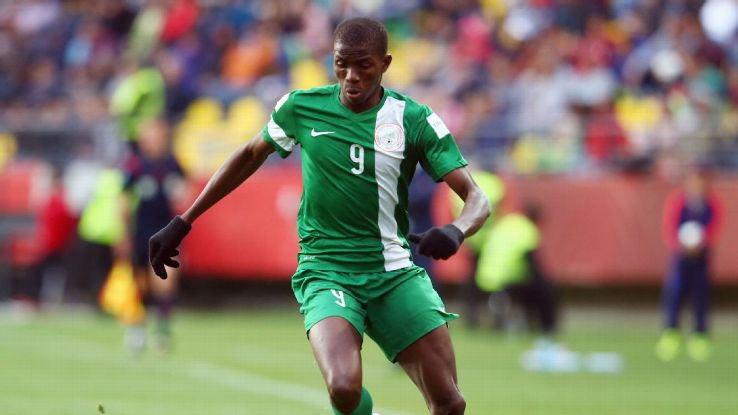 Osimhen out of Eagles' game with Senegal, Burkina Faso