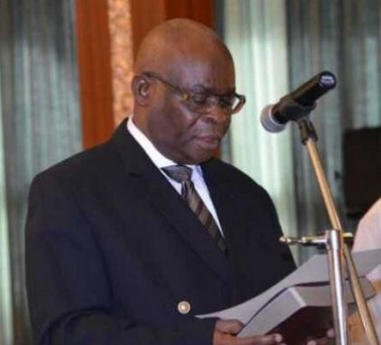 Onnoghen Sworn in As Chief Justice Of Nigeria