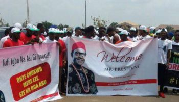 Pro-Buhari youth rally shuts down Anambra