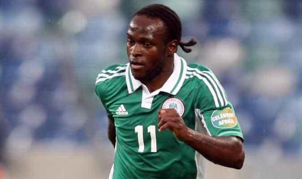 Victor Moses doubful for Nigeria's friendlies