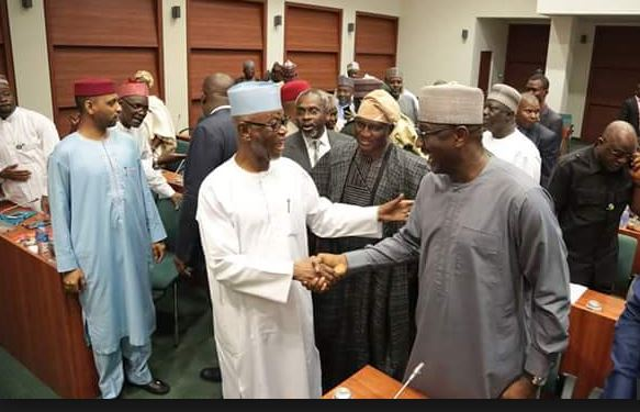 APC leaders meet with party members in House of Reps
