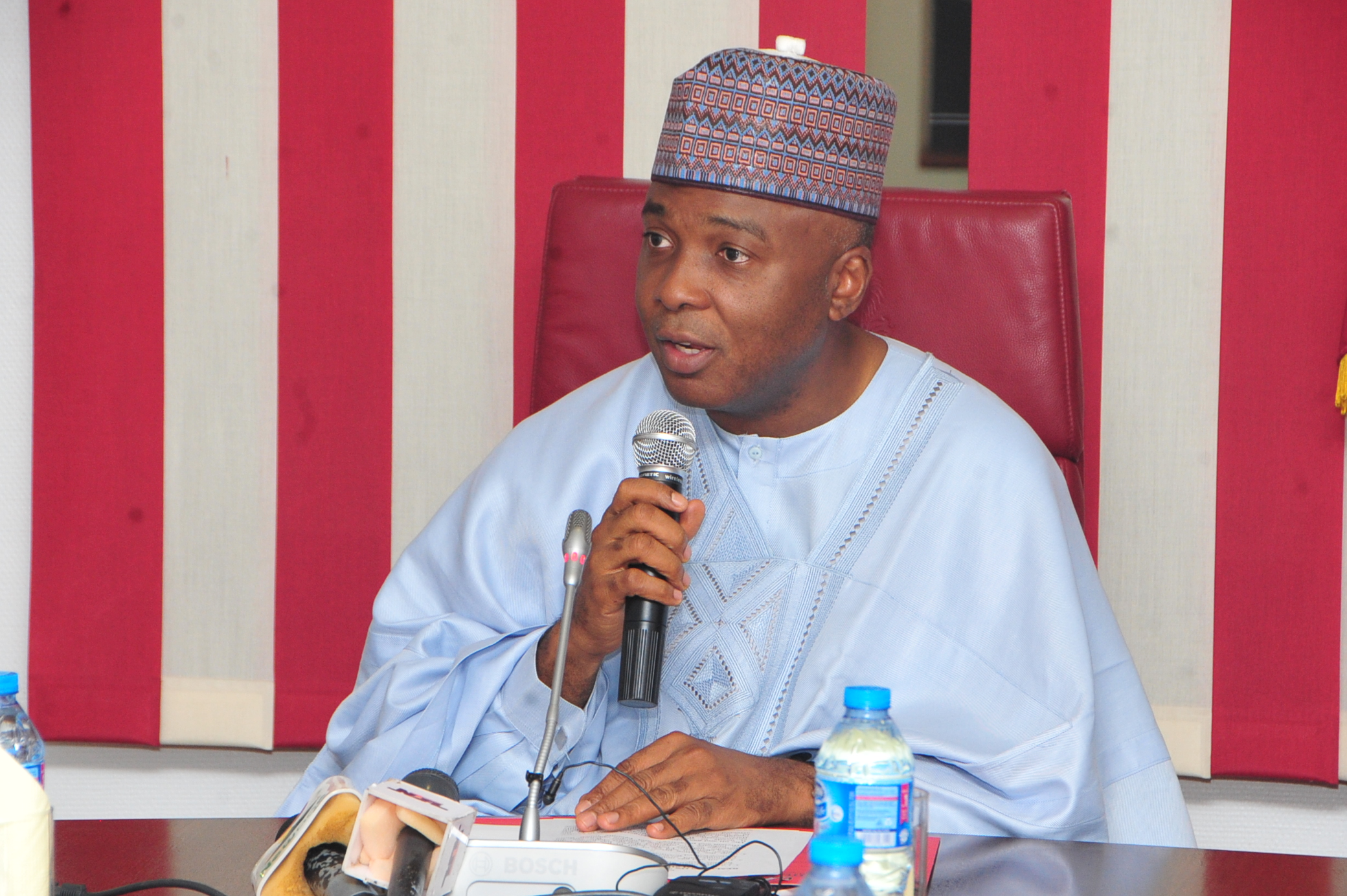 Saraki assures group of speedy passage of disability bill