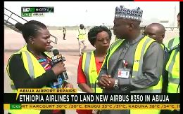 Ethiopia Airlines to land new Airbus 8350 in Abuja today