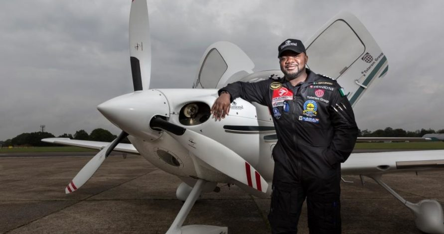 Nigerian pilot returns home after historic world tour