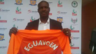 Eguavoen unveiled, tasked to save Sunshine from relegation