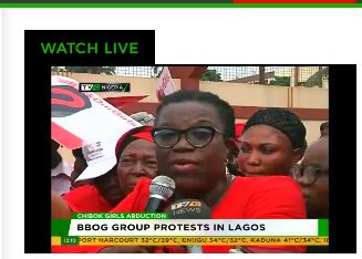 BBOG protests in Lagos over Chibok girls