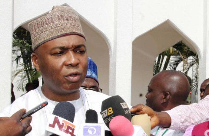 Saraki urges Nigerians to be patient wth APC government