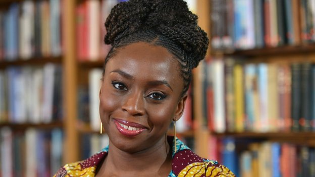 Chimamanda Adichie looks lovely at the Women in the World Summit in New York