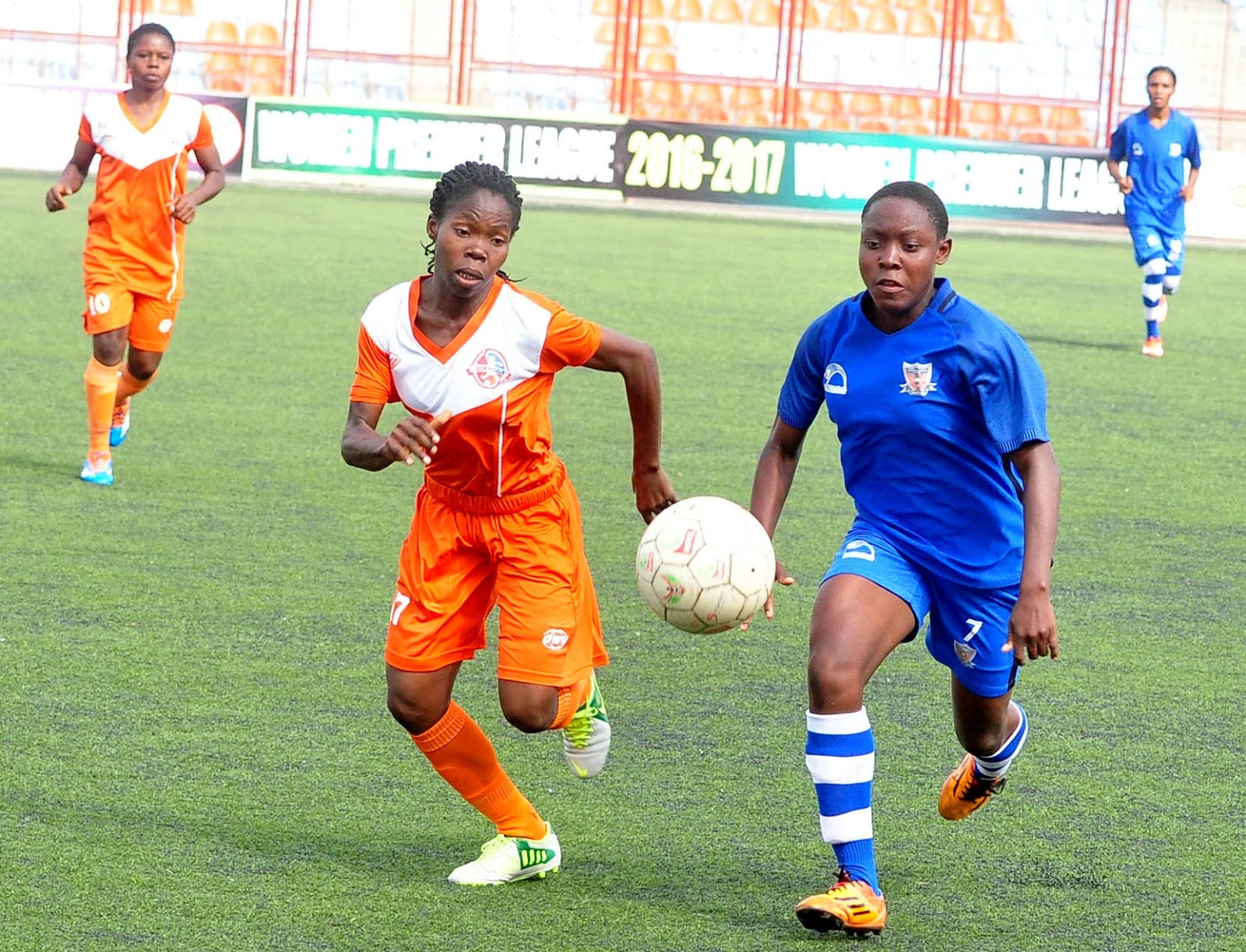 Women's League : Edo Queens face Confluence Queens