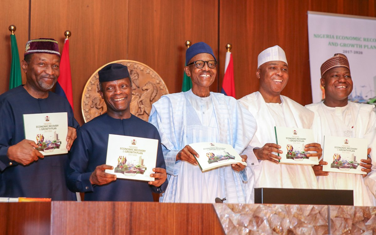 Buhari launches Nigeria's Economic Recovery, Growth Plan