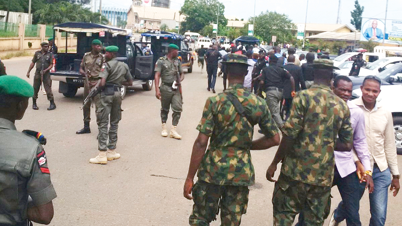 Nigerian Security operatives discuss inter-agency cooperation