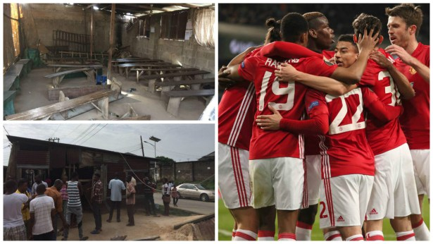 Man U. writes to Nigerians who were while watching Football in Calabar