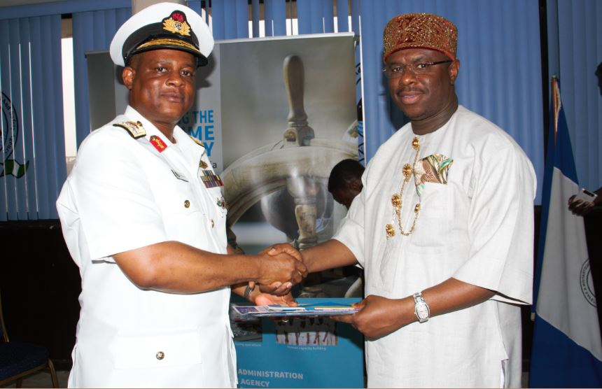NIMASA partners Navy on personnel training, data sharing