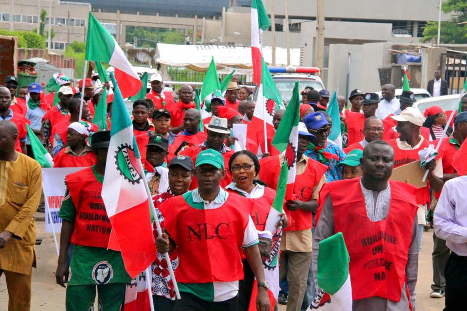 Kaduna labour crisis : NLC threatens to go on strike