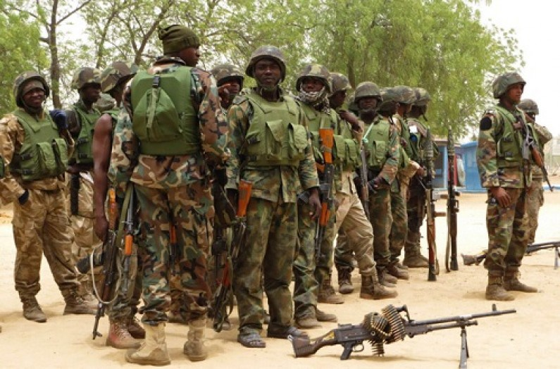 Nigerian army arrests three foreign Boko Haram members