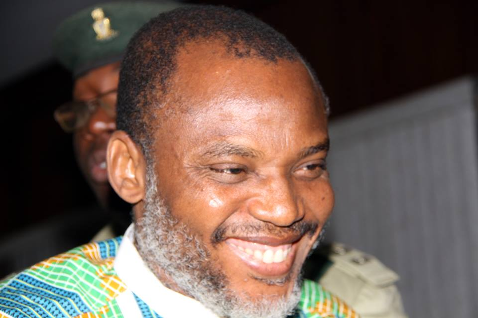 Nnamdi Kanu released from Kuje Prison