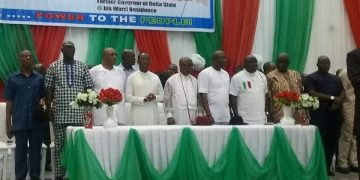 PDP caucus endorses Okowa for 2nd term