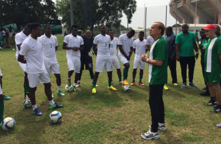 Rohr assures NPFL players of chance in Super Eagles