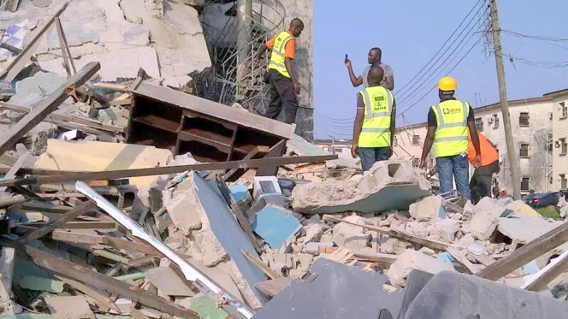 Two construction workers die as Lekki structure collapses