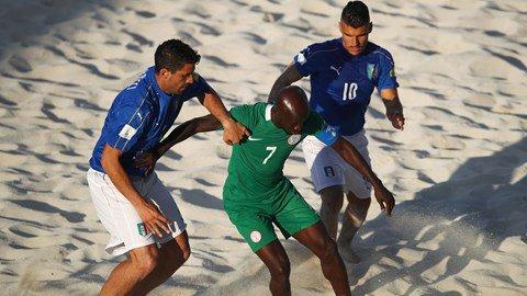 FIFA Beach Soccer World Cup: Italy spanks Nigeria 12-6