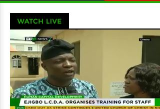 Ejigbo LCDA organises training for staff