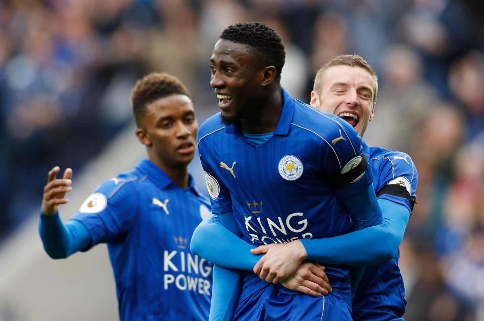 Leicester coach Shakespeare hails Wilfred Ndidi