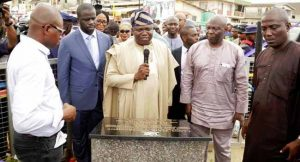 Governor Ambode inaugurates roads in Epe, Kosofe