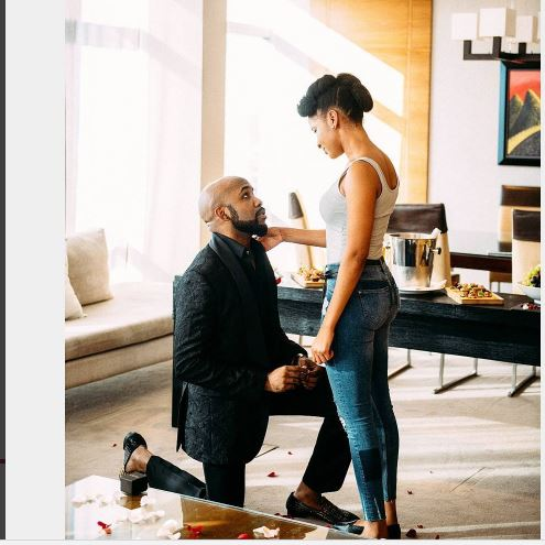 BankyW Proposed: Adesuwa said, Yes