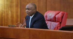 Medical leave: Saraki reads Buhari's letter at plenary